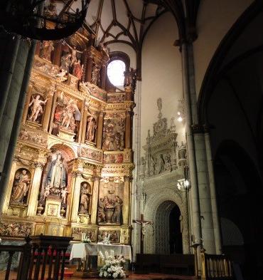 Iluminaci n de conjunto art stico religioso en vitoria gasteiz ahorro energ tico y realce de la - Iluminacion vitoria ...