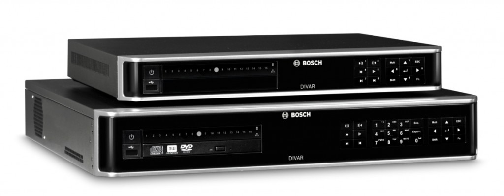 Soluciones de grabación en red e híbridas DIVAR