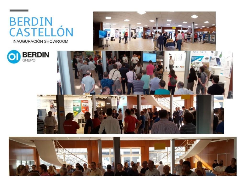 Evento inauguración showroom Berdin Castellón