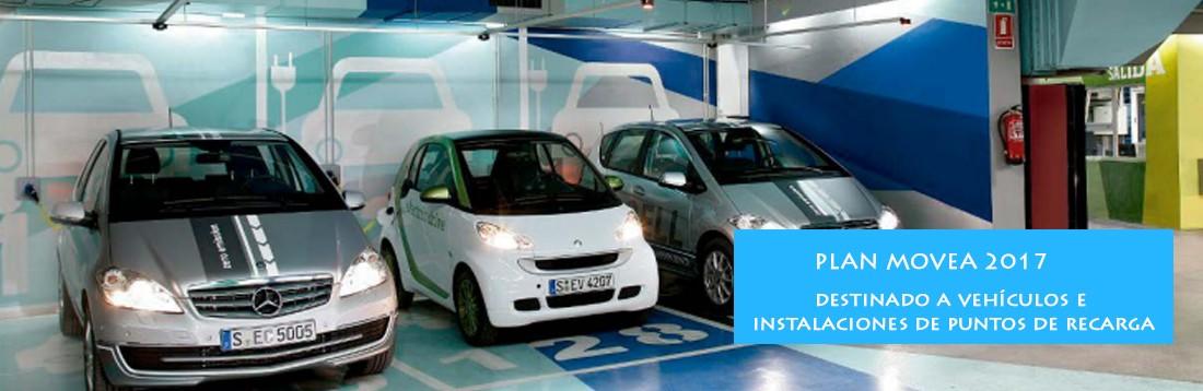 Plan Movea 2017 recarga vehículos eléctricos