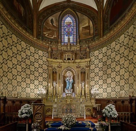 Berdin grupo aborda el proyecto de relamping de la iglesia san miguel - Iluminacion vitoria ...