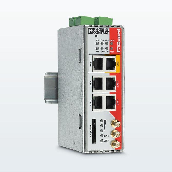 Router de Seguridad Phoenix Contact